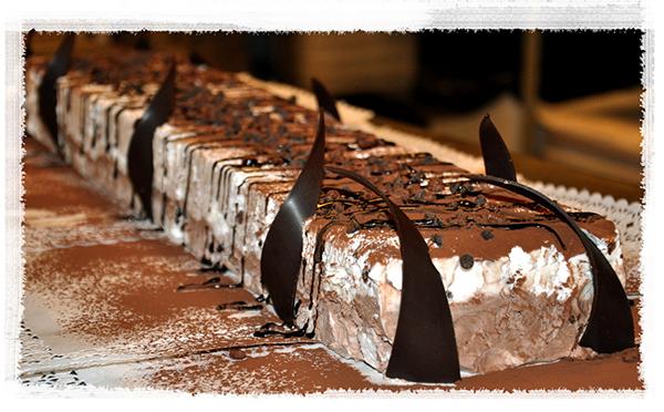 Re di Mezzo, meringa al cioccolato